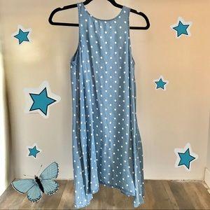 Velvet Heart polka dot swing dress